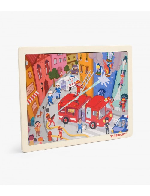 Top Bright Fire Fighting Puzzle 120395