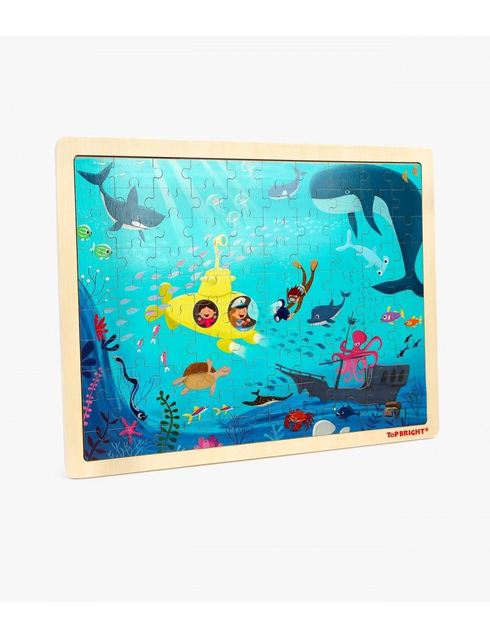 Top Bright Underwater World Puzzle  120393