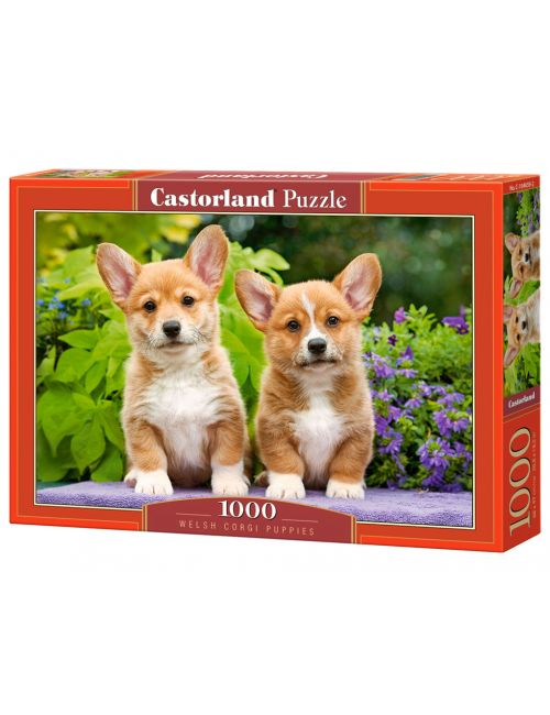 Castorland Welsh Corgi Puppies 1000 ΚΟΜΜΑΤΙΑ C-104659