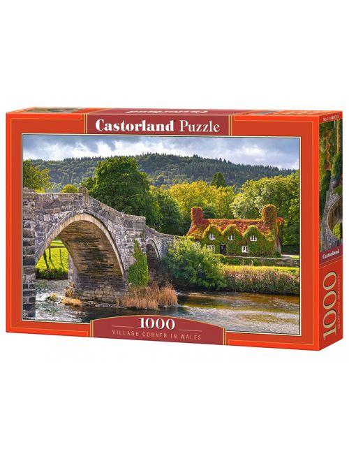 Castorland Village Corner in Wales 1000 ΚΟΜΜΑΤΙΑ C-104673