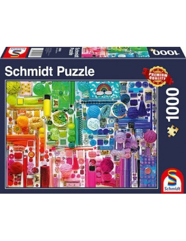 Schmidt  Colors of the Rainbow  2D 1000pcs  58958