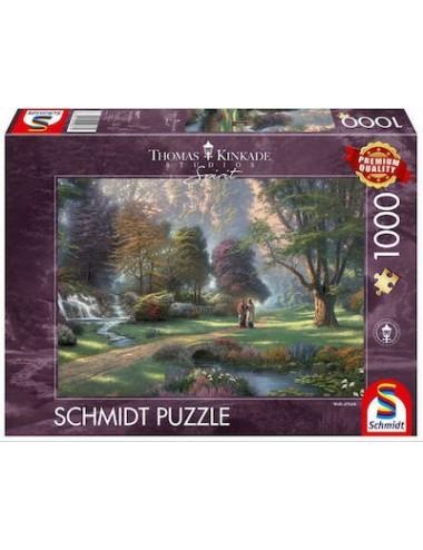 Περισσότερα σχετικά με Schmidt Thomas Kinkade - Spirit Walk of Faith 2D 1000pcs 59677