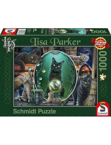 Περισσότερα σχετικά με Schmidt Lisa Parker: Magical Cats 2D 1000pcs 59665