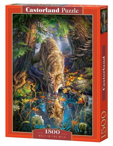 Castorland Wolf in the Wild 1500 ΚΟΜΜΑΤΙΑ C-151707