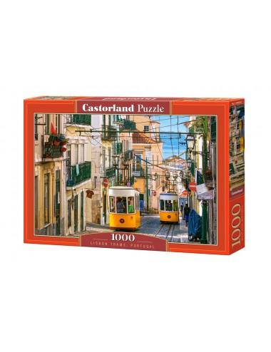 Castorland LISBON TRAMS, PORTUGAL 1000 ΚΟΜΜΑΤΙΑ C-104260