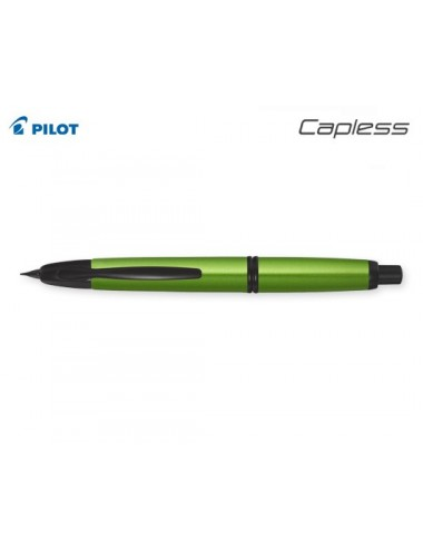 Pilot πένα 18Κ. Capless  Black Mατ  Medium Mindnight Blue