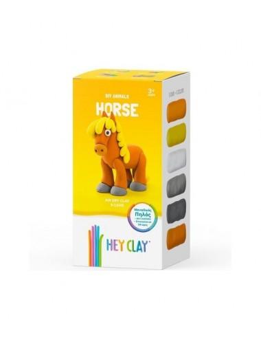 Hey Clay Claymates Horse MAE002  Κατασκευές από πηλό