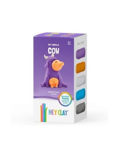Hey Clay Claymates Cow MAE003 Κατασκευές από πηλό