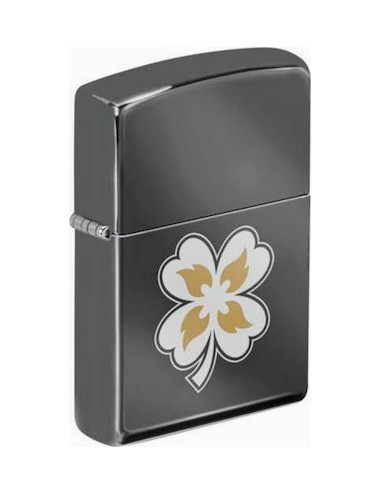 Zippo 49429 Clover with Flames
