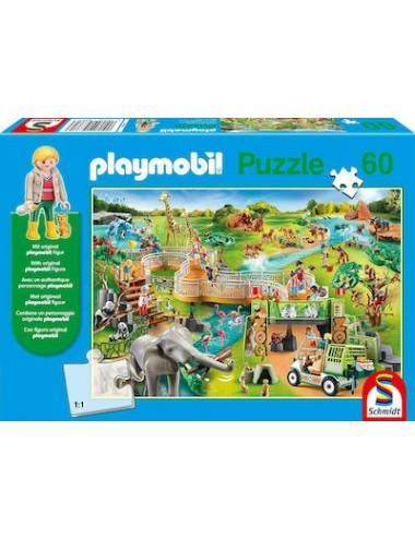 Schmidt Playmobil Zoo  Spiele 60pcs 56381