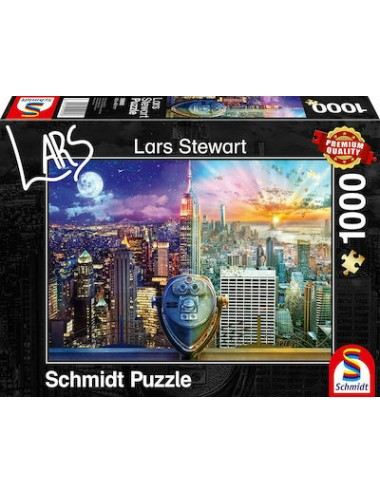 Schmidt New York, Day and Night 2D 1000pcs 59905