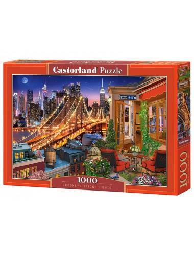 Castorland BROOKLYN BRIDGE LIGHTS  1000 ΚΟΜΜΑΤΙΑ C-104598