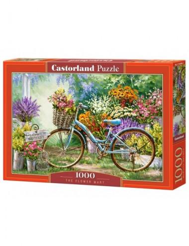 Castorland The Flower Mart 1000 ΚΟΜΜΑΤΙΑ  C-103898