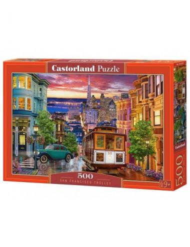 Castorland San Francisco Trolley  500 ΚΟΜΜΑΤΙΑ  B-53391