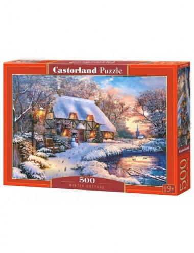 Castorland WINTER COTTAGE 500 ΚΟΜΜΑΤΙΑ B-53278