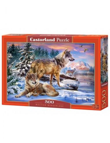 Castorland WWOLFISH WONDERLAND 500 ΚΟΜΜΑΤΙΑ  B-53049