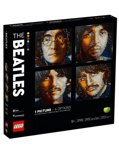 Lego art 31198 the Beatles...