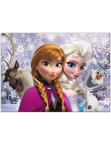 Παζλ Frozen διπλής όψεως...