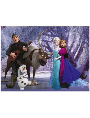 Παζλ Frozen διπλής όψεως με...