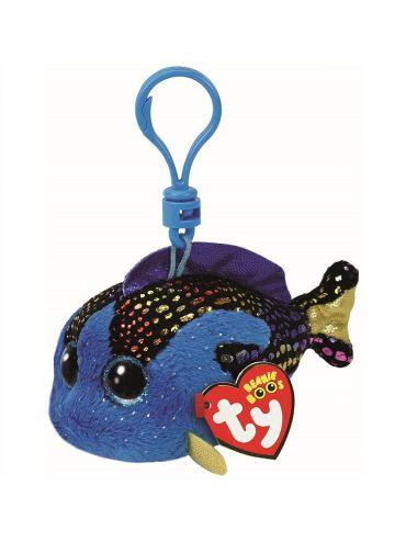 Χνουδωτό Μπρελόκ  Ψάρι Μπλε...