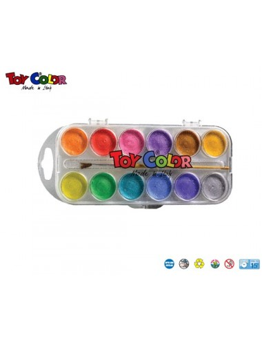 TOY COLOR ΝΕΡΟΧΡ.12ΧΡ. ΠΕΡΛΕ