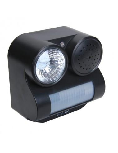 smartek Ηχητική Συσκευή με Φως που Απωθεί Ζώα και Πτηνά C03G0070232