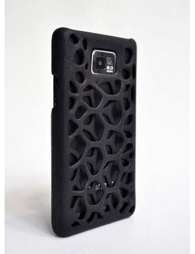 Fresh Fiber Freshfiber Θήκη 3D Macedonia για Samsung Galaxy S II - Μαύρο C04G0430014