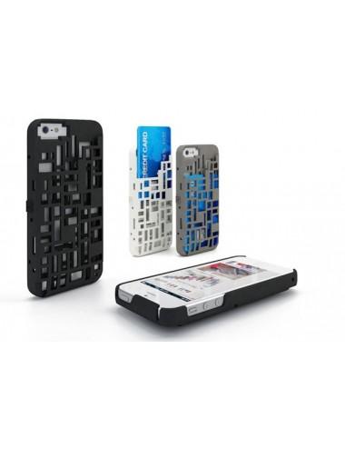 Fresh Fiber Freshfiber Θήκη Mondriaan με Υποδοχή Καρτών για iPhone 4/4S - Λευκό C04G0430011