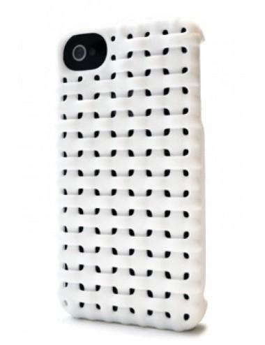 Fresh Fiber Freshfiber Θήκη 3D Weave Λευκή για iPhone 4/4S C04G0430008