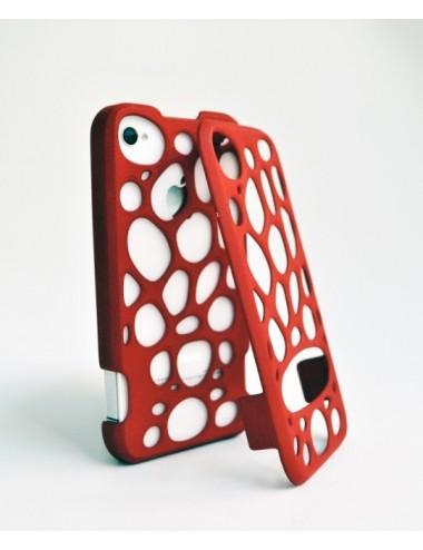 Fresh Fiber Freshfiber Διπλή Θήκη 3D Macedonia για iPhone 4/4S - Κόκκινο C04G0430002