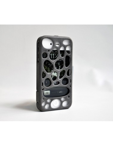 Fresh Fiber Freshfiber Διπλή Θήκη 3D Macedonia για iPhone 4/4S - Γκρι C04G0430004