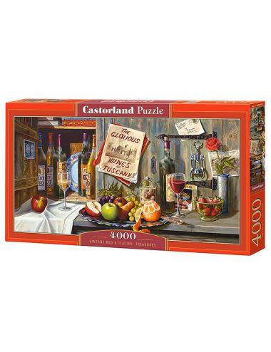 Castorland Vintage Red &...