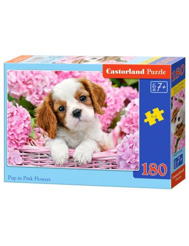 Castorland Pup In Pink...