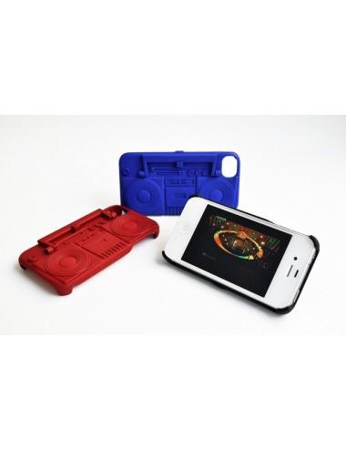 Fresh Fiber Freshfiber Θήκη και Βάση Κασετόφωνο για iPhone 4/4S - Κόκκινο C04G0430006