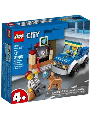 Lego City  60241 Police dog...