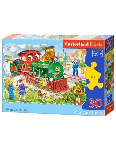 Castorland Green Locomotive...