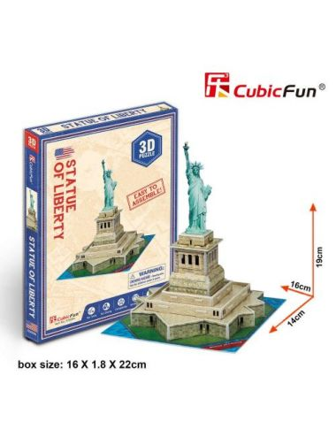 Cubic Fun Statue of Liberty...