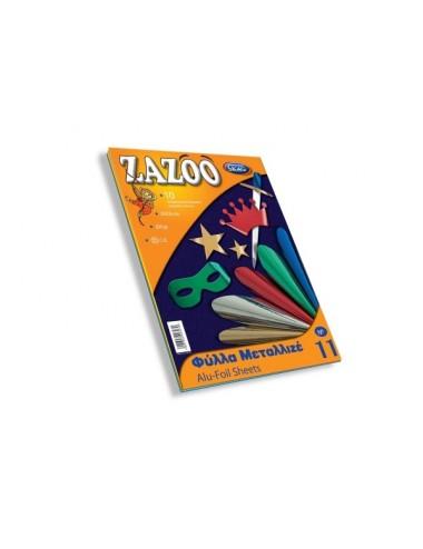 ΖΑΖΟΟ-ΜΕΤΑΛΛΙΖΕ 25Χ35 250ΓΡΑΜ.-Φ.10-Ν.11