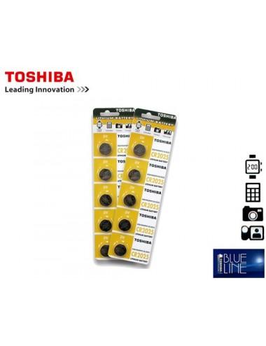 TOSHIBA ΜΠΑΤΑΡΙΕΣ COINS ΛΙΘΙΟΥ CR-2032 5Τ.
