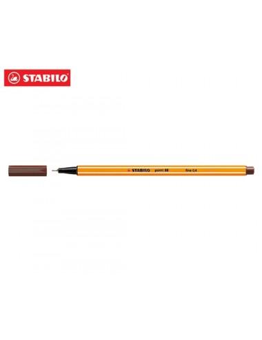 STABILO Μαρκαδόρος 88 No45 brown