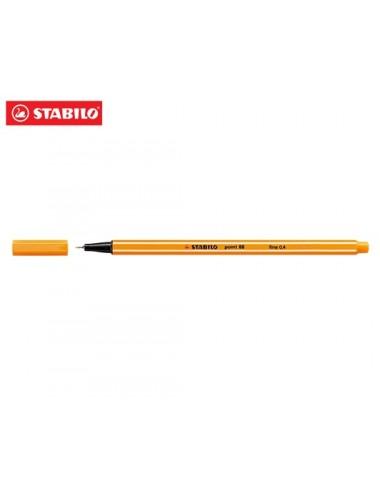 STABILO Μαρκαδόρος 88 No54 orange