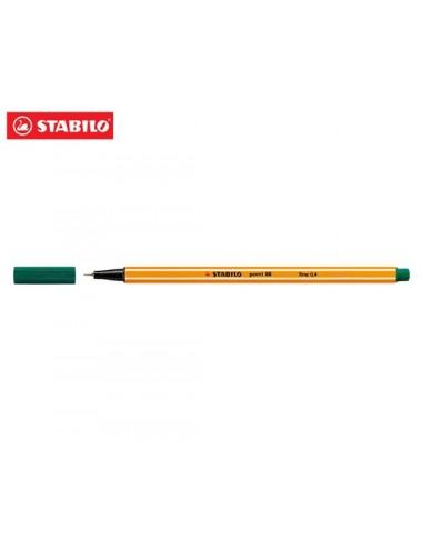 STABILO Μαρκαδόρος 88 No63 OLIVE green