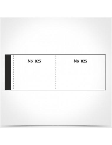 Μπλοκ Ταμείου με απόκομμα & Αρίθμηση (λαχνοί) 156