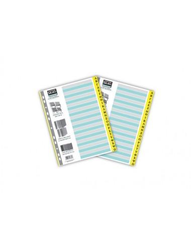 Skag Ευρετήριο Χρωματιστό (Α-Ω) Χάρτινο 24 Φύλλα Α4