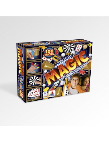 Δεσύλλας Amazing Magic 100 Tricks (με DVD)
